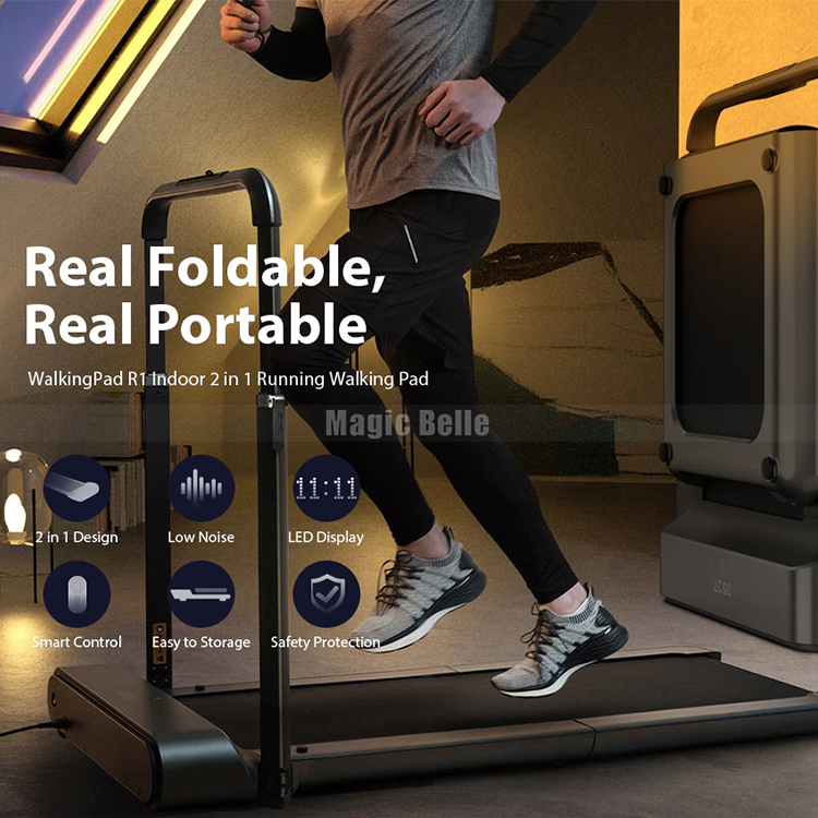 Xiaomi APP Control WalkingPad R1 Treadmill Folding Ultra-thin Fitness Walking And Running Machine Outdoor/Indoor