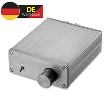 Nobsound 미니 디지털 파워 앰프 HiFi TPA3116 스테레오 2.0 채널 홈 오디오 앰프 50W + 50W