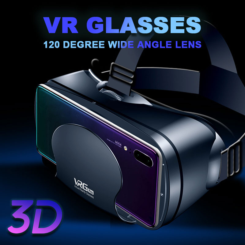 5~7inch VRG Pro 3D VR Glasses Virtual Reality Full Screen Visual Wide-Angle VR Glasses Box For 5 to 7 inch Smartphone Eyeglasses 4
