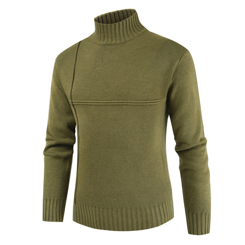 Mens Sweaters 2019 Autumn and Winter New Men Turtleneck Sweater Casual Pullover Long Sleeve Men Clothes Plus Size Sweater