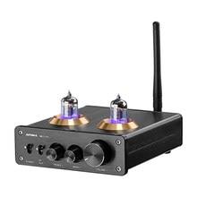 Aiyima bluetooth 5.1 6j1 tubo amplificador preamp duplo tpa3116 digital estéreo amplificadores de som 100wx2 teatro em casa alta fidelidade mini amp