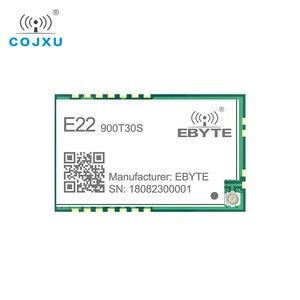 Image 2 - SX1262 1W UART LoRa TCXO 915mhz Module E22 900T30S cdebyte Wireless Module 868MHz Long Range IoT SMD IPEX Interface transmitter