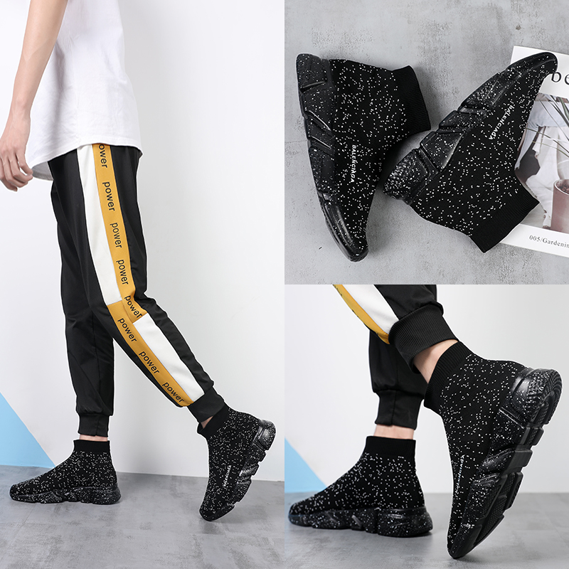 Men Women Sneakers Spring Socks Shoes Couple Light Walking Shoes