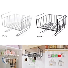 Hanging Iron Storage Shelf Mesh Basket  Desk Rack Partition Cabinet Hanging Basket Desk Storage Rack Shelves SWWQ