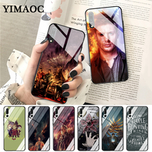 YIMAOC Supernatural TV Movie Coque cool Glass Case for Huawei P10 lite P20 Pro P30 P Smart honor 7A 8X 9 10 Y6 Mate 20