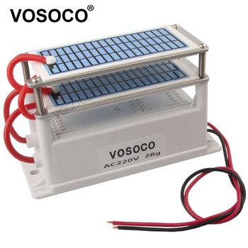 60 g h 28 g h Generator ozonu filtr powietrza ozonizator wody sterylizacja powietrza oczyszczacz leczenie formaldehyd usuwanie Generator ozonu 220V tanie i dobre opinie VOSOCO 50m³ h CN (pochodzenie) 90 w 220 v 28g h Oczyszczacz powietrza 41-60 ㎡ Przenośne 95 00 Źródło A C 99 90