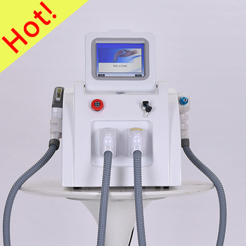 Factory Price 2 in 1 IPL SHR / OPT / Elight Hair Removal and Laser Tattoo Removal Beauty Machine for Salon professional portable shr ipl opt 360 magneto optical painless permanent hair removal beauty machine uk lamp over 400000 shots