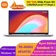 Ноутбук Xiaomi RedmiBook 14 Ⅱ Ryzen Edition, AMD Ryzen 5 4500U, 14 дюймов, FHD экран 1920*1080, 16 ГБ/8 ГБ DDR4, 512 Гб SSD, ноутбук