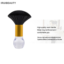 цены Soft Barber Cleaning Hairbrush Hair Sweep Brush Neck Face Duster Brush Salon Hair Cleaning Sweep Brush Hairdressing Hair Cleaner