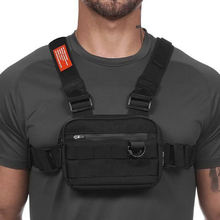Уличный тактический рюкзак жилет многофункциональное тренировочное