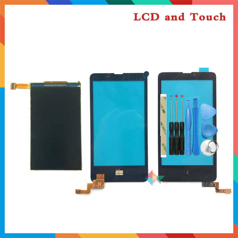 High Quality 4.0'' For Nokia X RM-980 Lcd Display Screen + Touch Screen Digitizer Sensor + Tools Free Shipping