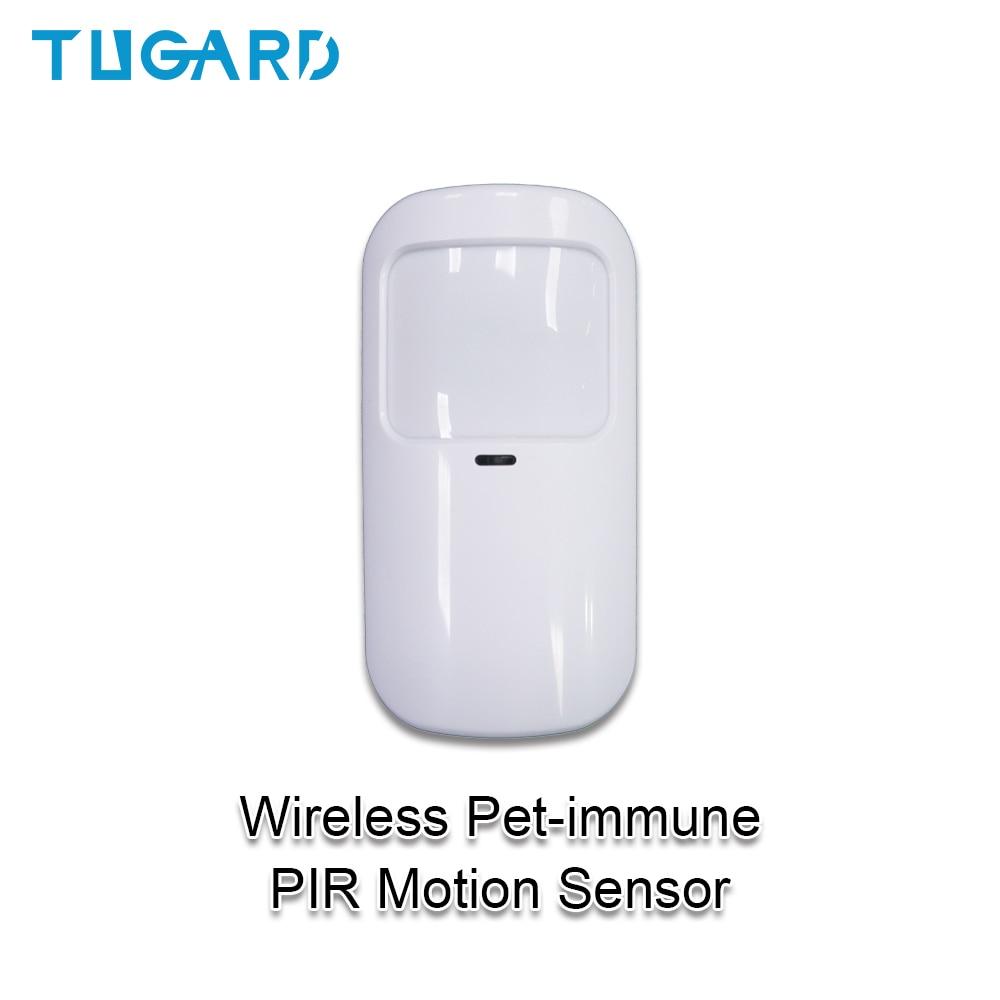 Tuya Smart 433mhz Alarm Wireless Wifi PIR Detector Sensor Infrared Motion Sensor For Home Alarm System Host Pet-immune Detector