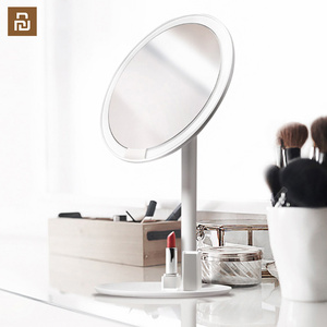 Image 1 - Amiro hd espelho regulável bancada ajustável 60 graus de rotação 2000 mah luz do dia maquiagem cosméticos led espelho lâmpada