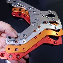 hpi rv km baja 5b 5t cnc thick front upper plate steering seat