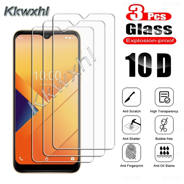3PCS Tempered Glass For Wiko Power U10 U20 U30 Y62 View4 Lite View5 Plus Y51 Y61 Y81 View3 Pro Protective Screen Protector Film 1