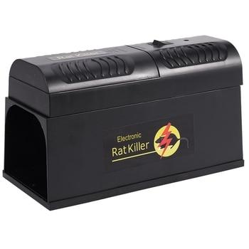 Electric High Voltage Mouse Rat Trap Mouse Killer Electronic Rodent Mouse Zapper Electrocute Home Use Pest Control EU Plug