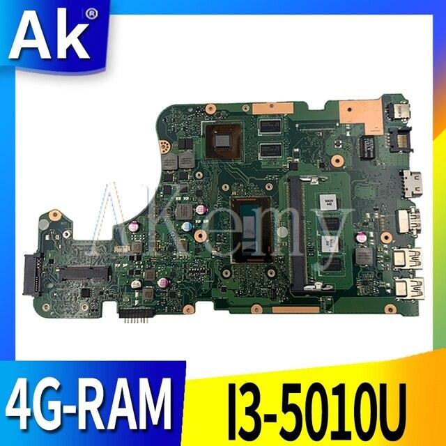 AK X555LD carte mère Dordinateur Portable pour ASUS X555LD X555LDB X555LB X555L X555 dorigine mianboard 4G-RAM I3-5010U