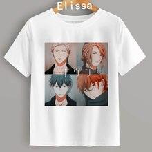 Yaoi Bl Dato Yaoi Dato Anime Manga di Musica di Modo di Hip Hop T Shirt Harajuku Femminile Manica Corta T-Shirt Maglietta di Estate vestiti