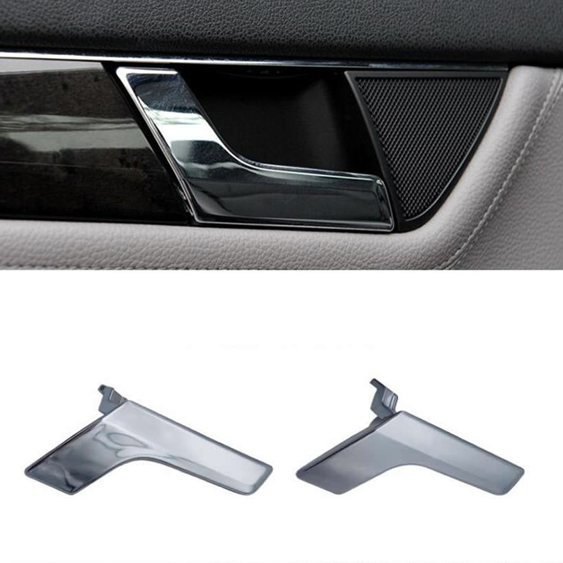 Auto Car Left Side Chrome Inside Interior Door Handle Kit For Mercedes W204 X204 Archives Midweek Com