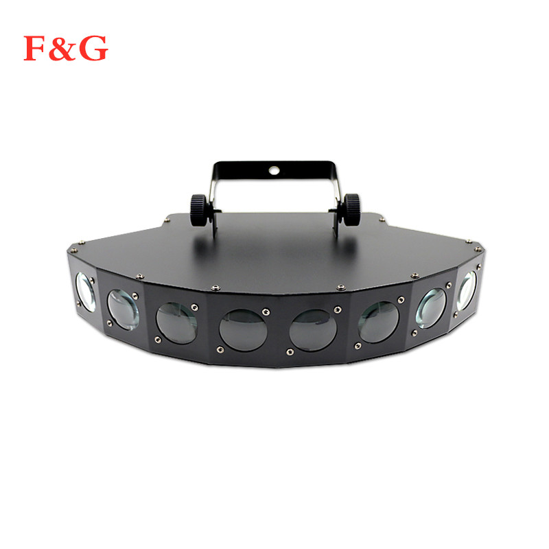 Hoge Helderheid Acht-beam Scanner Fan Beam Bar Lichtstraal Laser RGBW Scanner Dj Club Disco Light Acht Ogen LED Beam Lamp