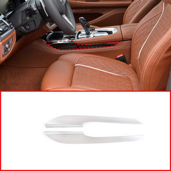 For BMW 7 Series G11 G12 2016-2020 Car Interior ABS Central Control Side Decoration Cover Trim Accessories