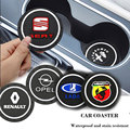 Резиновый Автомобильный интерьер Автомобильная эмблема держатель чашки нескользящий коврик для Lexus ES300 RX330 RX300 GS300 IS250 IS200 CT200h NX аксессуары