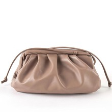 Luxury Designer New Cloud Shape Women Day Clutch Bag Pleated Dumpling Shoulder M