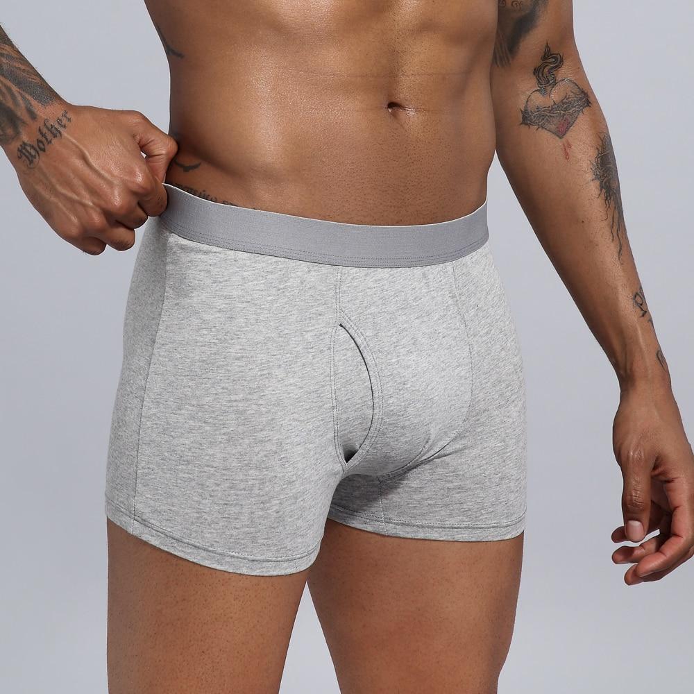Panties Men Boxers European Size Underwear Cotton Man Shorts Boxer Breathable Shorts Mens Boxers Underpants Hombres Boxeador