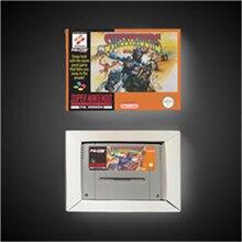 Sunset riders cartão de jogo de ação versão eur com caixa de varejo