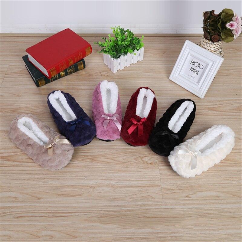 Fall/winter Women's Soft Bottom Non-slip Thickened Confinement Shoes Floor Socks Floor Footwear