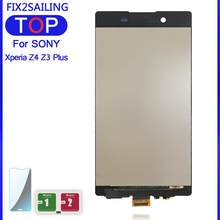 "100% Getest Lcd Touch Screen Digitizer Vergadering Vervanging Voor Sony Xperia Z3 + Z3 Plus Z4 E6553 E6533 E5663 5.2""(China)"