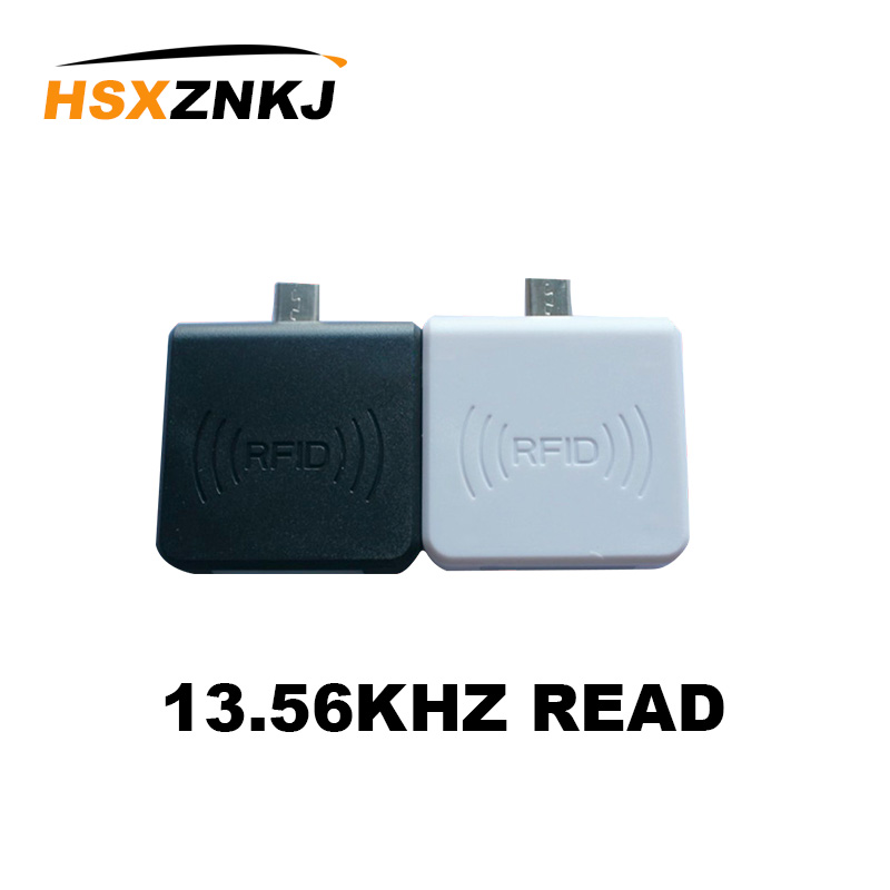 Support WIndows / Android Phone OTG Reader Free Shipping Home Mini RFID 13.56MHZ NFC Card Smart Chip  Card Reader