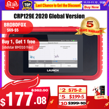 Launch X431 CRP129E Creader 129E obd 2 Diagnostic Tool Code Reader Launch diagnosis scanner with 5 Reset Functions CRP 123 129