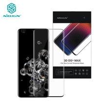 กระจกนิรภัยสำหรับ Samsung Galaxy S20 PLUS NILLKIN DS MAX เต็มรูปแบบหน้าจอ Protector สำหรับ Samsung Galaxy S20 Ultra 3D แก้ว