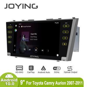 Image 4 - Android 10.0 9 inç 2 din radyo araba 4GB + 64GB kafa ünitesi GPS navigasyon Octa çekirdek toyota Camry 2007 2011 destek 3G/4G DSP BT