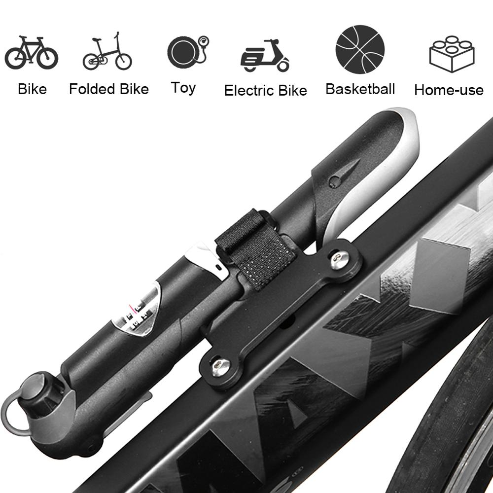 Pompe à vélo Portable Mini pompe à main cyclisme pompe à Air balle jouet gonfleur de pneu Schrader Presta Valve vtt pompe à VTT