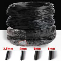 1 Roll Bonsai Wires Anodized Aluminum Bonsai Training Wire Fastener Tool Plants Styling Tree Bendable Flower decor 2/3.5/4/5/6mm
