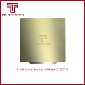 220/235/310x310 мм пружинный стальной лист PEI предварительно приложенный гибкий магнитный основание pei для CR10 3d сапфирового принтера наклейка