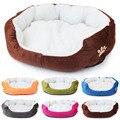 Кашемировая кровать для питомца собаки  согревающий дом для собаки  мягкий диван  материал  гнездо  корзины для собак  Осень-зима  теплый пит...