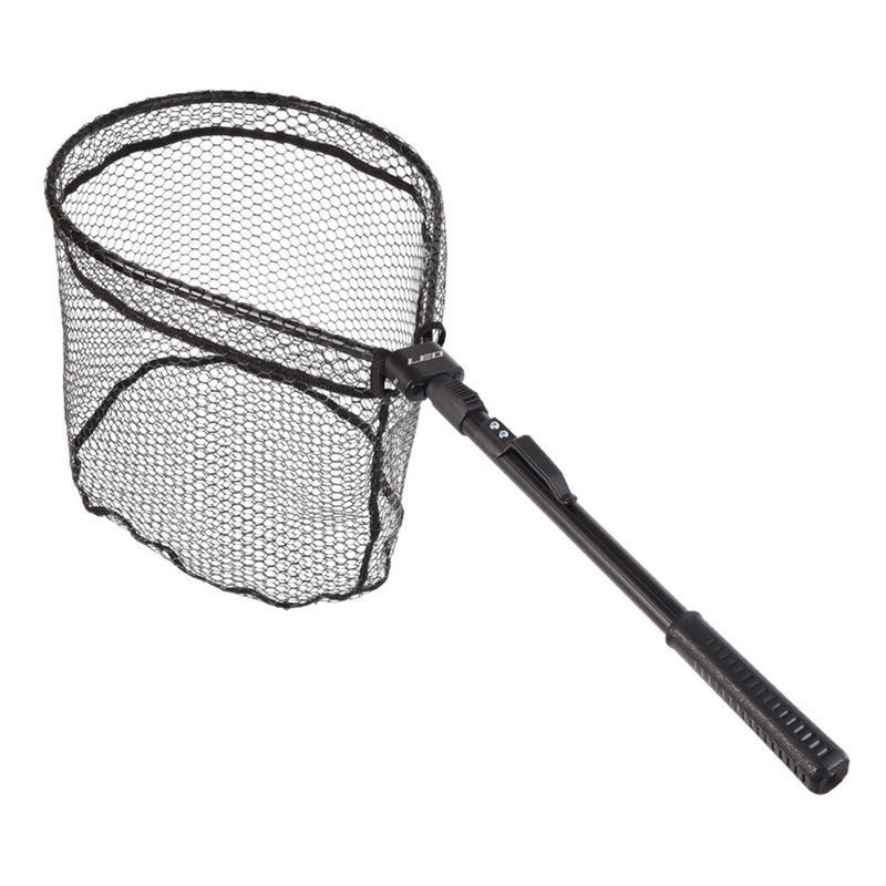 Extension Fishing Nets Brail Mesh Handle Fishing Landing Net Trout Rubber (44cm)|Fishing Net| |  - title=