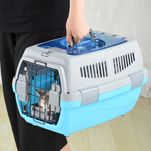 Pet Transport Bag Breathable Dog Cat Carrier Case Big Space Airline Approved Car Portable Carrying Travel Puppy Cage Box