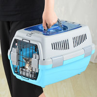 Pet Transport Bag Breathable Dog Cat Carrier Bag Case Big Space Airline Approved Car Portable Carrying Travel Puppy Cage Box