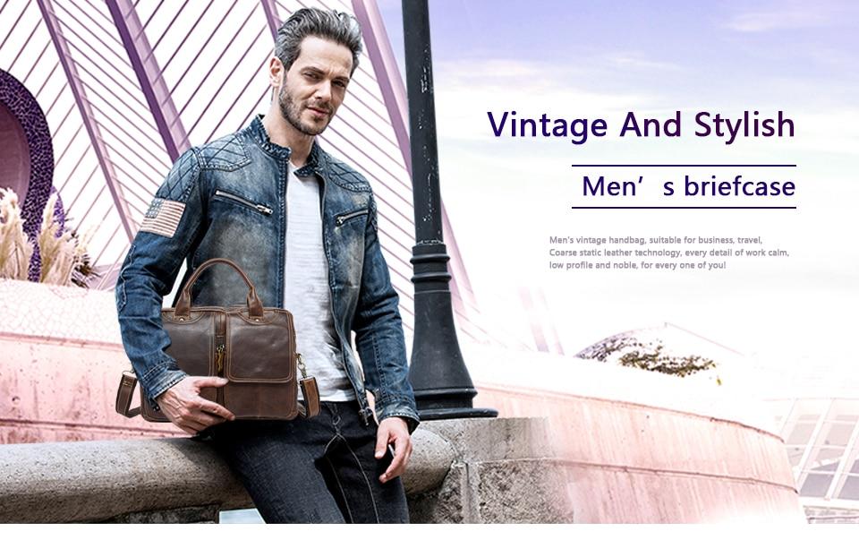 Hc22133bc4afb48318b8183b7ea53dba9L MVA men's bag/briefcase leather office/laptop bag for men's genuine leather bag business document man briefcase handbag 8002-1