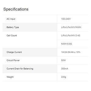 Image 5 - SKYRC – chargeur de Balance multi chimique e450, 2S 3S 4s LiPo LiFe LiHV 6S 8S NiMH, chargeur de Balance de batterie AC 110V 240V