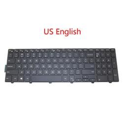 Laptop US JP CA GR klawiatura do dell 15 3541 3542 5542 5545 5547 5557 5558 podświetlany kanada niemiecki japoński angielski 0G7P48 0H6HJ6