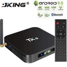 Newest Smart TV Box Android 9.0 Tanix TX6 Allwinner H6 4GB R