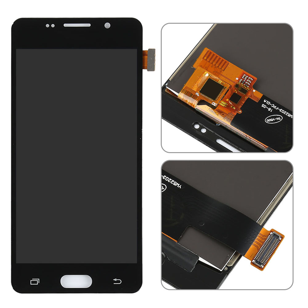For Samsung Galaxy A5 2016 LCD S Display A510 SM-A510F A510M A510FD LCD with Touch Screen Encoding Converter Assembly (TFT)(China)