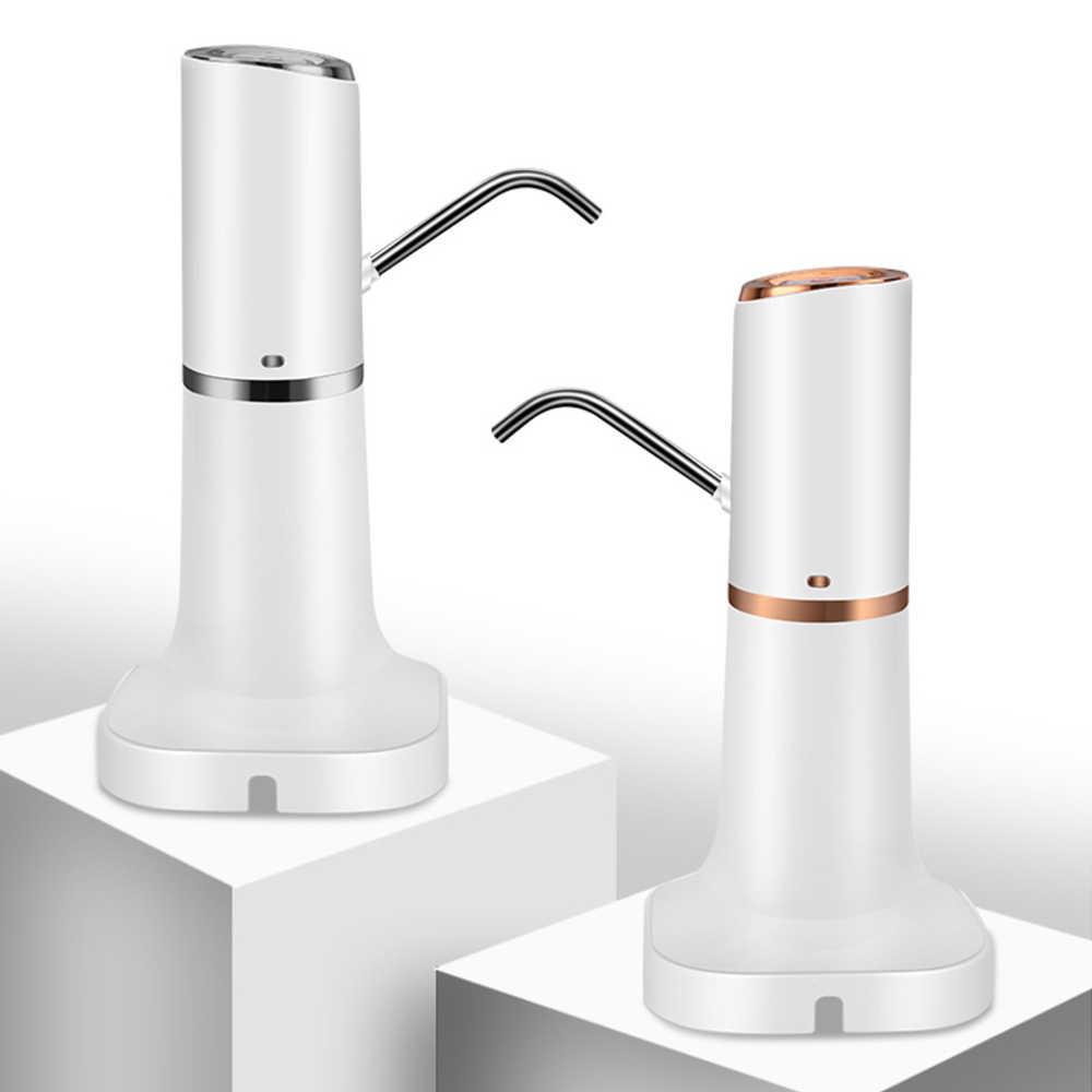 น้ำขวดปั๊มไฟฟ้าน้ำไร้สายไฟฟ้าแบบพกพาปั๊มน้ำอัตโนมัติถังขวด USB 1200mha