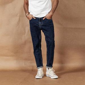 Image 1 - SIMWOOD 2020 bahar kış yeni kot erkek moda klasik yüksek kaliteli kot pantolon artı boyutu denim pantolon 190408