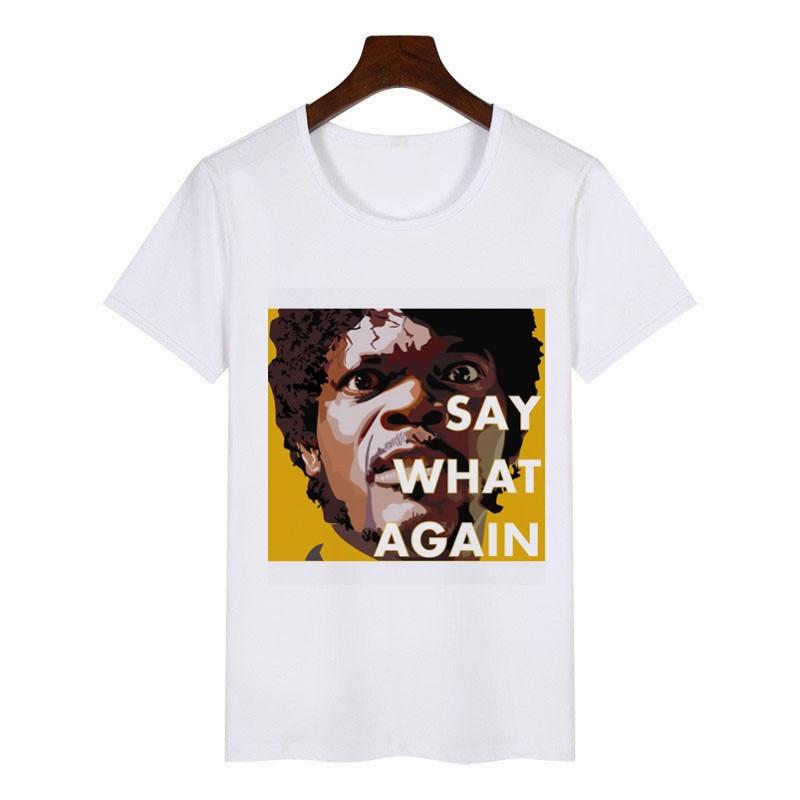 New Summer Fashion Pulp Fiction , Poster , 1994 , Quentin Tarantino T-Shirt Women O-neck Shoer Sleeve T-shirt Tees Tops